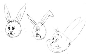 rabbit faces